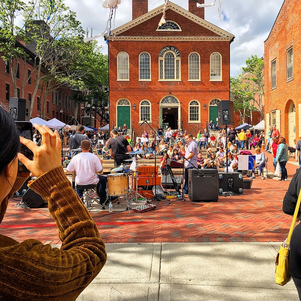 Salem Art Festival in Salem, Massachusetts