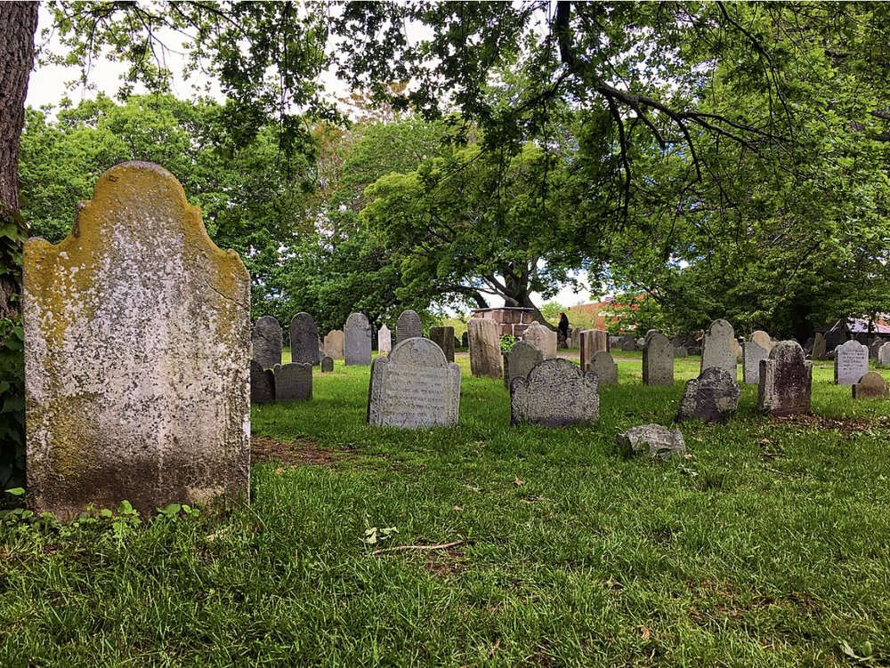 Old Burying Point in Salem, Massachusetts