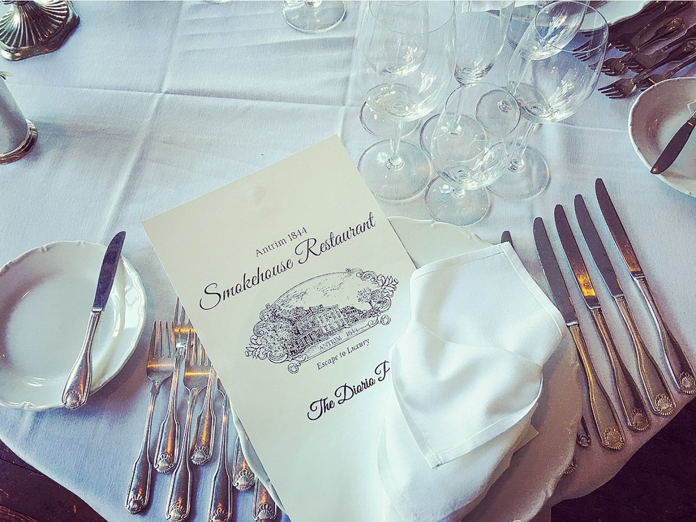 Smokehouse Restaurant at Antrim 1844 Country House Hotel