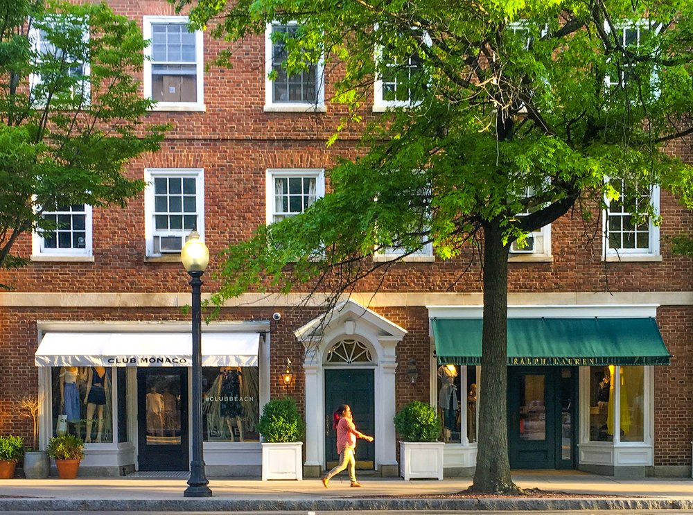 Shopping in Princeton, New Jersey
