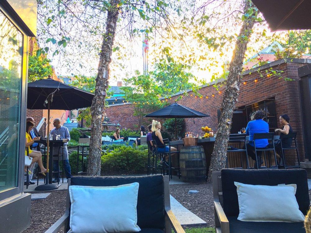 The Yard at The Ritz-Carlton,Georgetown