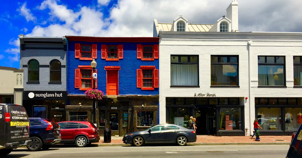 Shopping in Georgetown, DC