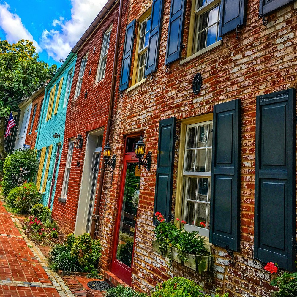 Architecture in Georgetown, DC