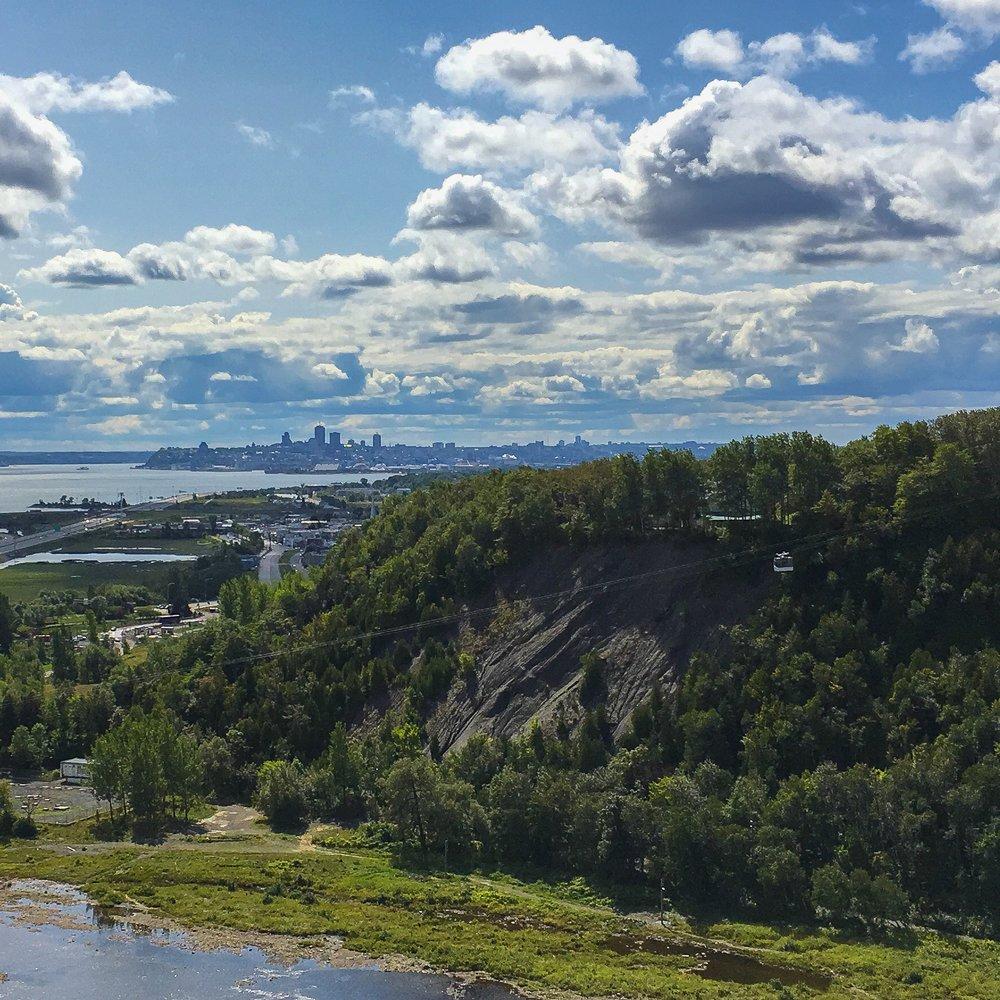 Île d'Orléans in Quebec,Canada