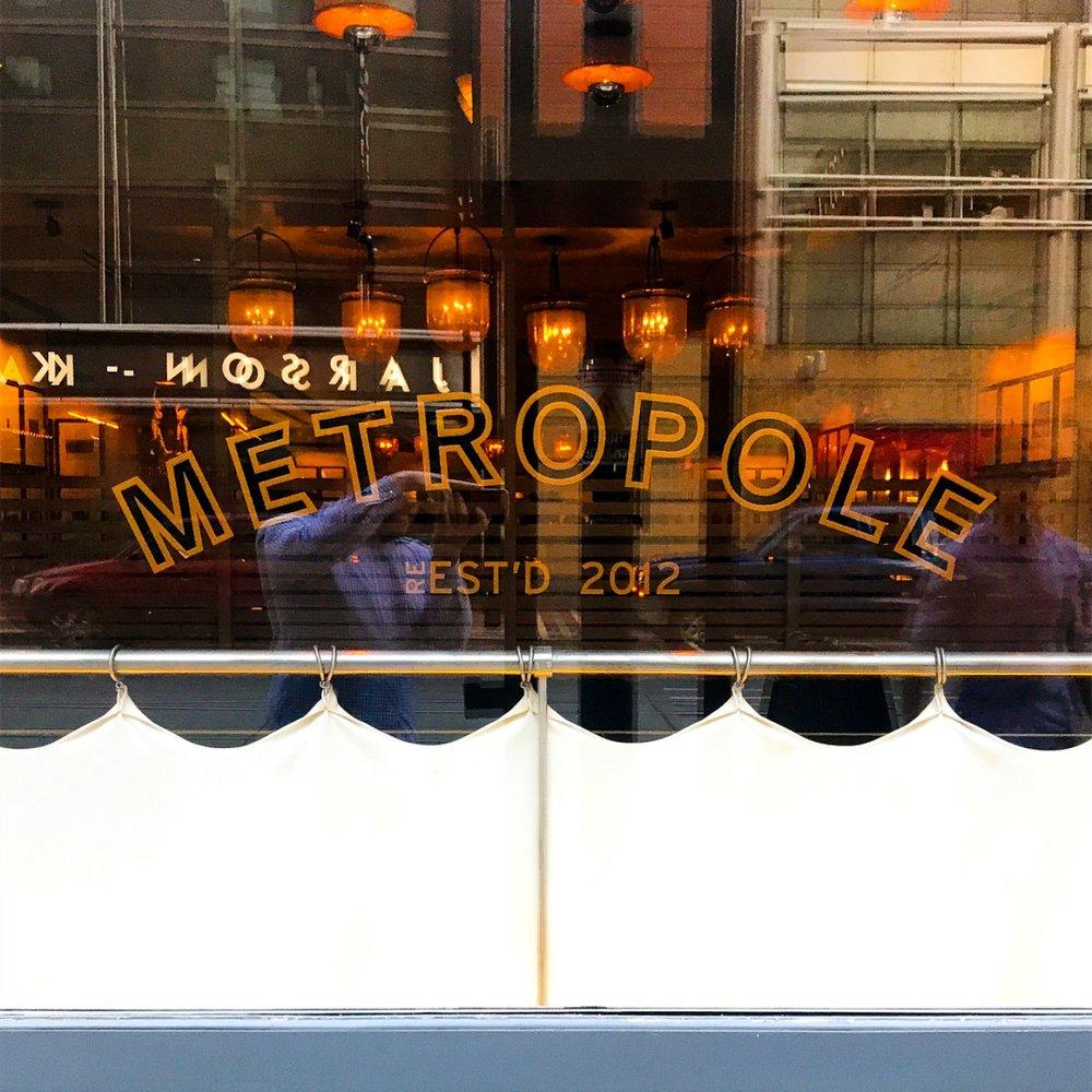Metropole at the 21c Museum Hotel in Cincinnati, Ohio