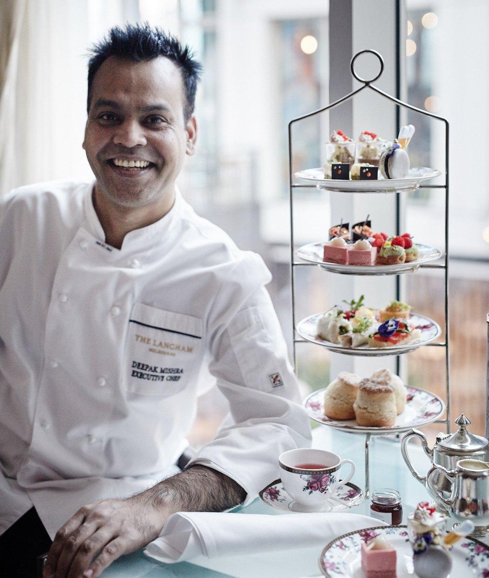 Chef Deepak Mishra, The Langham, Melbourne