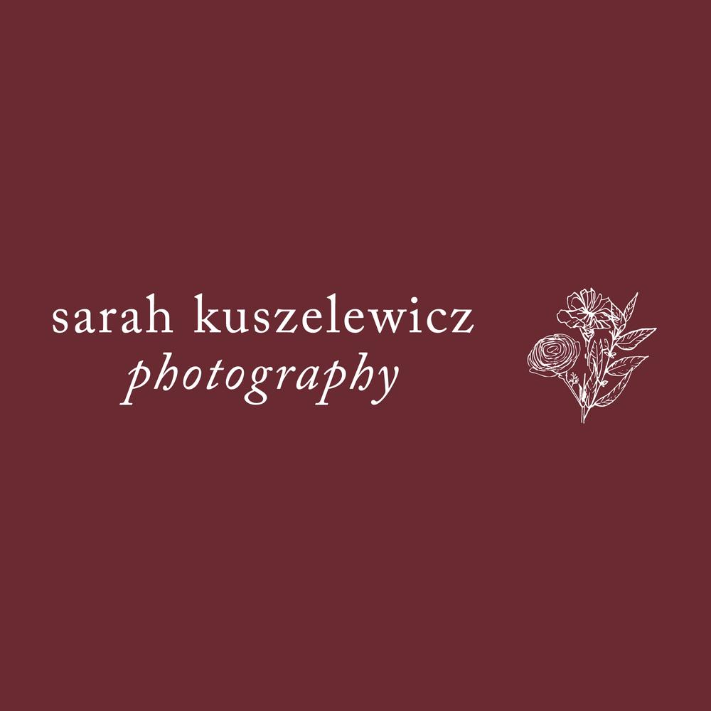 Brand Design  Sarah Kuszelewicz Photograpy