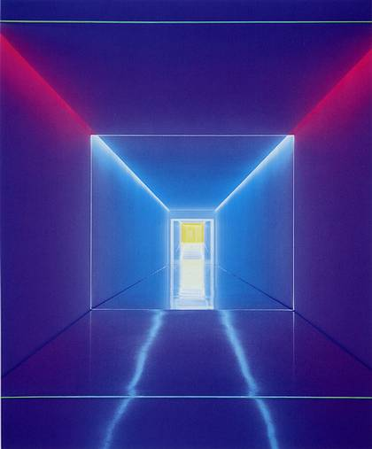 James Turrell - Light Sculpture