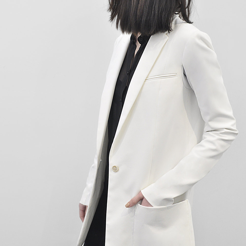 Nells Nelson White Jacket