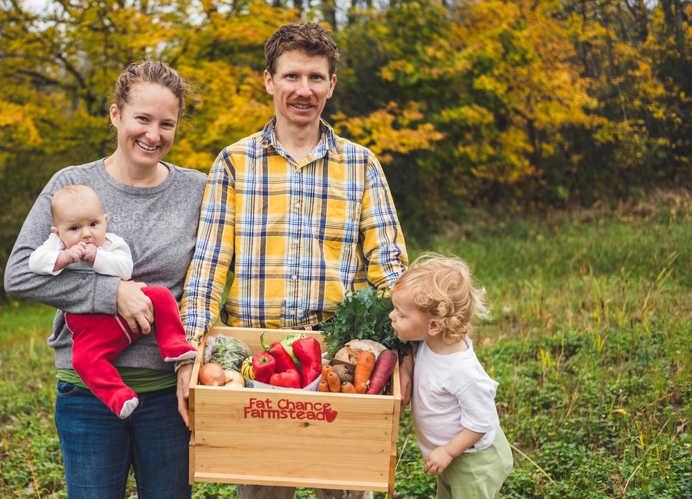 Thank you for investing in us - Hi everyone, it's Farmer Josh. I want you to know how much I appreciate your support this past season. You're not just buying vegetables. You're investing in a farm, a family and in a community…and that means the world to me.I can't wait to grow more food for you next year.-Farmer Josh