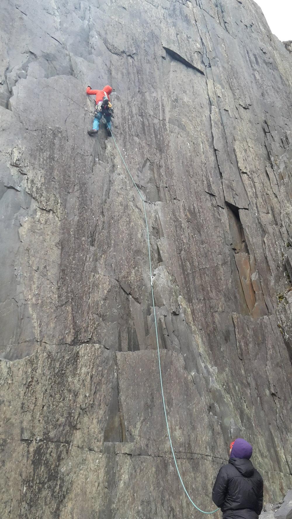 Climbing teams the same