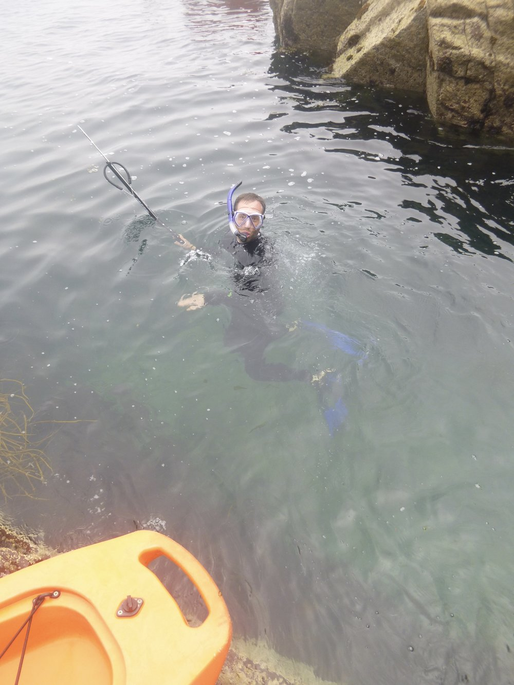 First attempt at Spear Fishing