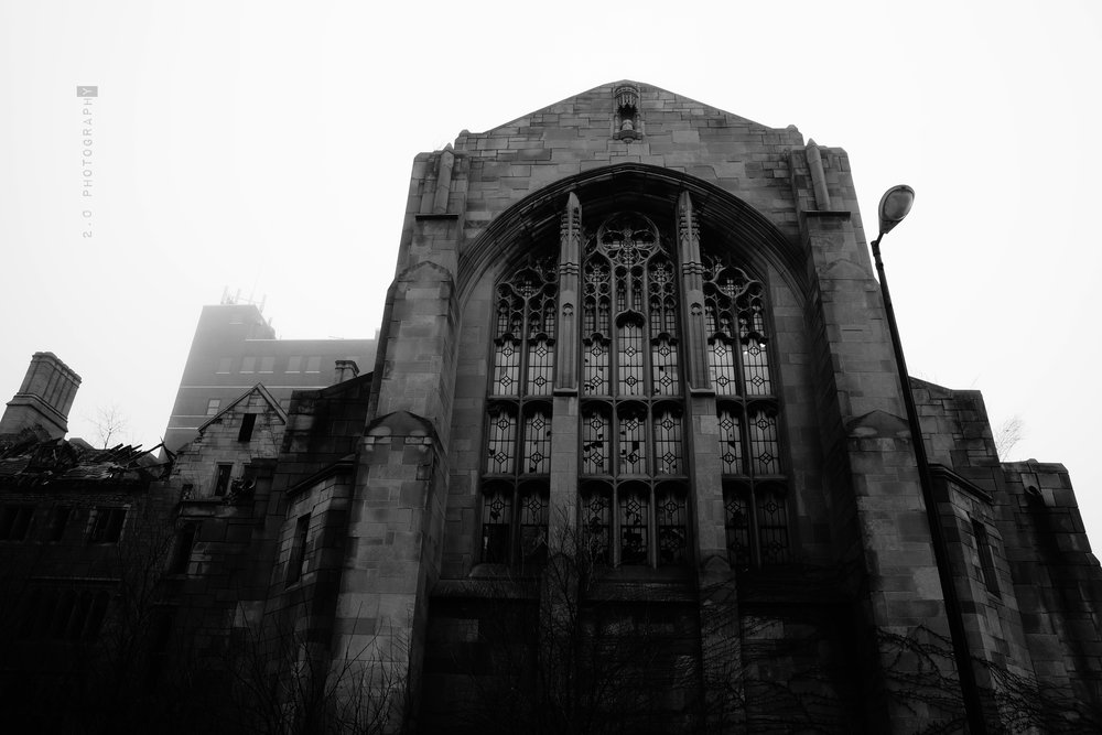 City Methodist Church - City Methodist Church was constructed over a course of 21 months until it was completed in 1926. Planned by Dr. William Grant Seaman, who would become the pastor, the church was designed by hired architects Lowe and Bollenbacher. US Steel Corporation helped finance the building project. As one of the true gothic churches of its time, CMC was once the pride of the community. The CMC was not only a church, but a place for the community with an additional building that had four floors and a basement. This added building contained offices, classrooms, a gymnasium, large kitchen, dining room, and an auditorium with a well-equipped stage. This church would grow to have as many as 3,000 members in the 1950s. Unfortunately, during the 1960s-1970s, as the city of Gary dealt with decreasing population and segregation issues, the church was no longer able to pay its bills. After failed attempts to sell the building, it finally closed its doors in 1975.http://sometimes-interesting.com/2013/06/16/city-united-methodist-church-of-gary-indiana/