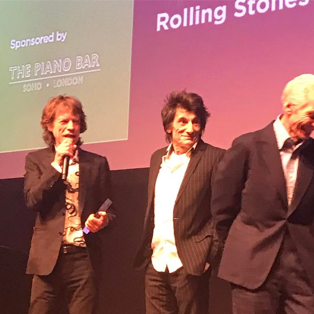 The Rolling Stones win Blues Artist of the Year in The Piano Bar's category at the Jazz FM awards 25/04/17
