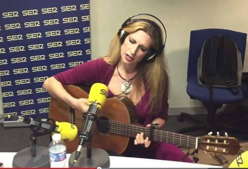 Tori Sparks live on Cadena Ser, Spain