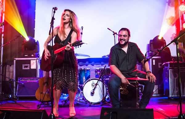 Tori Sparks and Javi Garcia Live