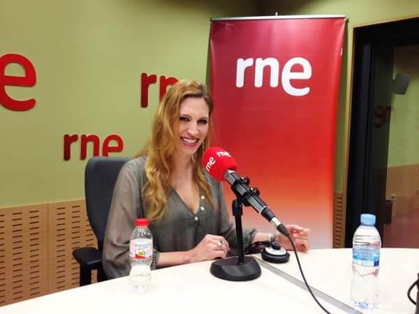Tori Sparks on Anem de Tarde, Radio4, Barcelona, Spain