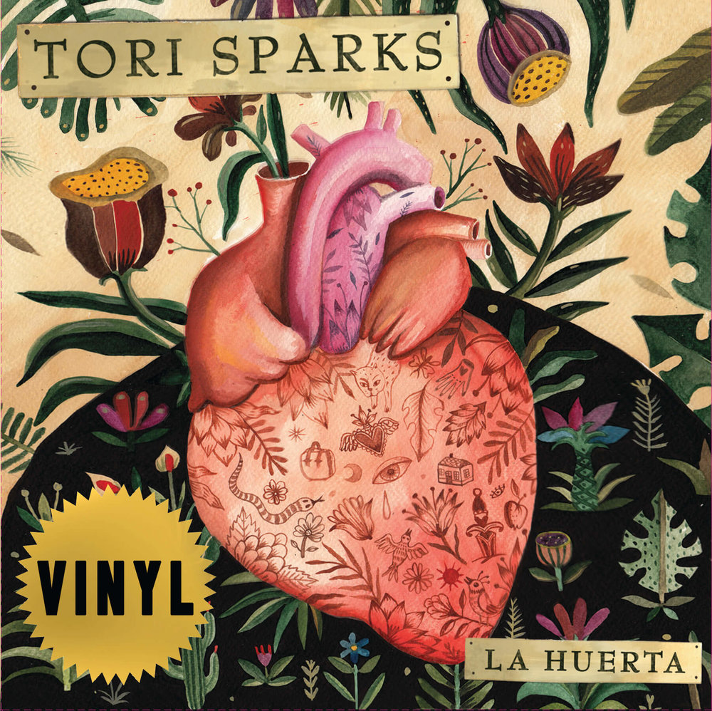 Tori Sparks Vinyl Record La Huerta