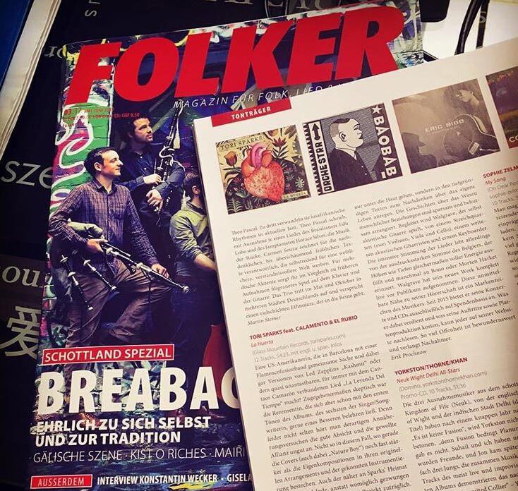 Tori Sparks Folker La Huerta Review
