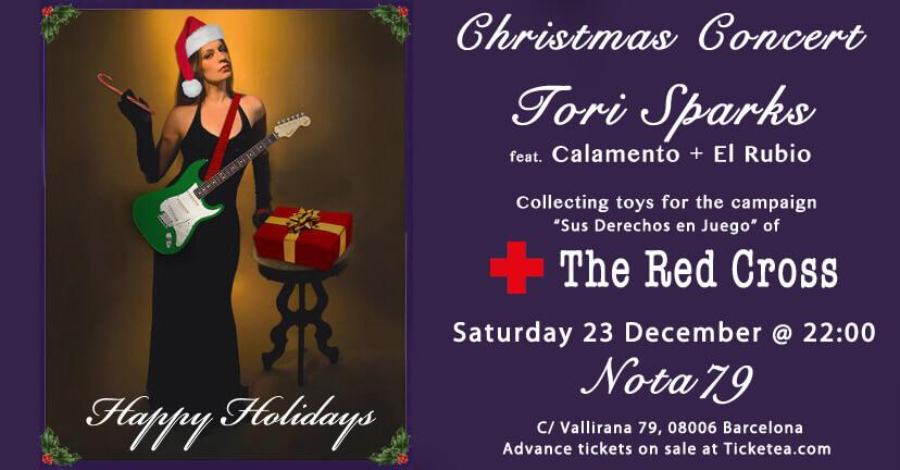 Nota79 Tori Sparks Christmas Show