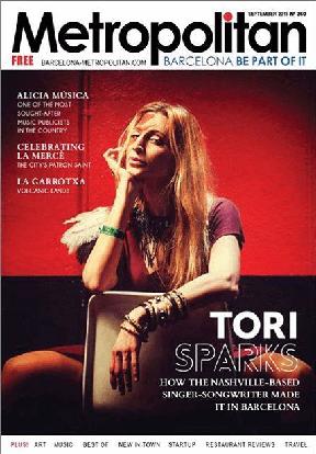 Tori Sparks Metropolitan Magazine September 2018