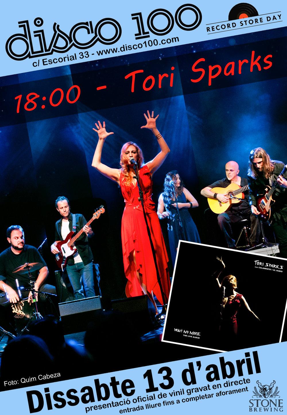 Tori Sparks RSD 2019