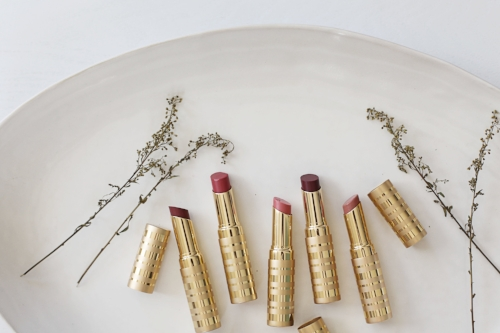 Before switching to clean beauty, I was a chronic dry lip sufferer (lipstick addict). These  Lip Sheers  ($32) offer the loveliest of nudes to the most vibrant bolds, and are scented with vanilla and without fragrance which is often drying/irritating.