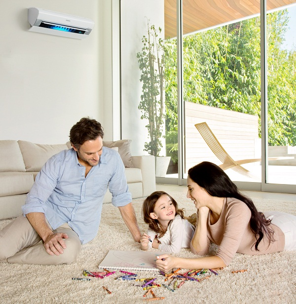 1 in 3 kiwi kids grow up with asthma, and this is because New Zealand homes are cold, damp, and mouldy. The most efficient way to introduce heat into a home is with a Panasonic heat pump, which can funnel warm air directly into the area of the room where you are occupying, for a warmer, yet more energy efficient house.