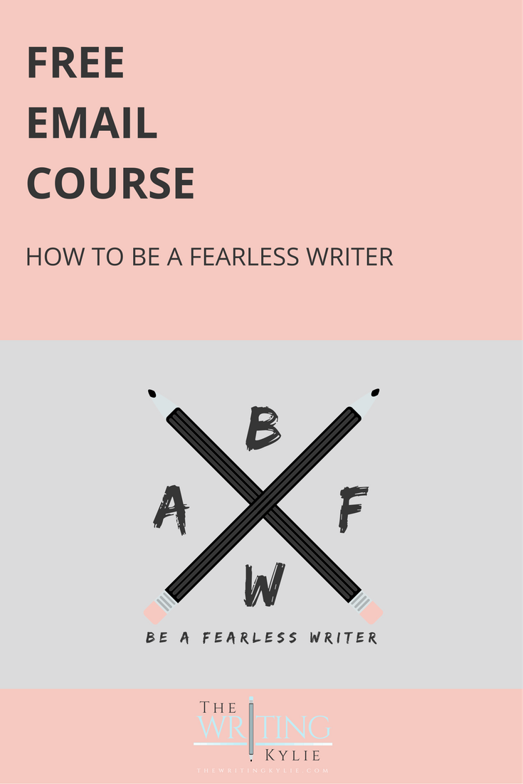 Free Email Course: How to be a Fearless Writer