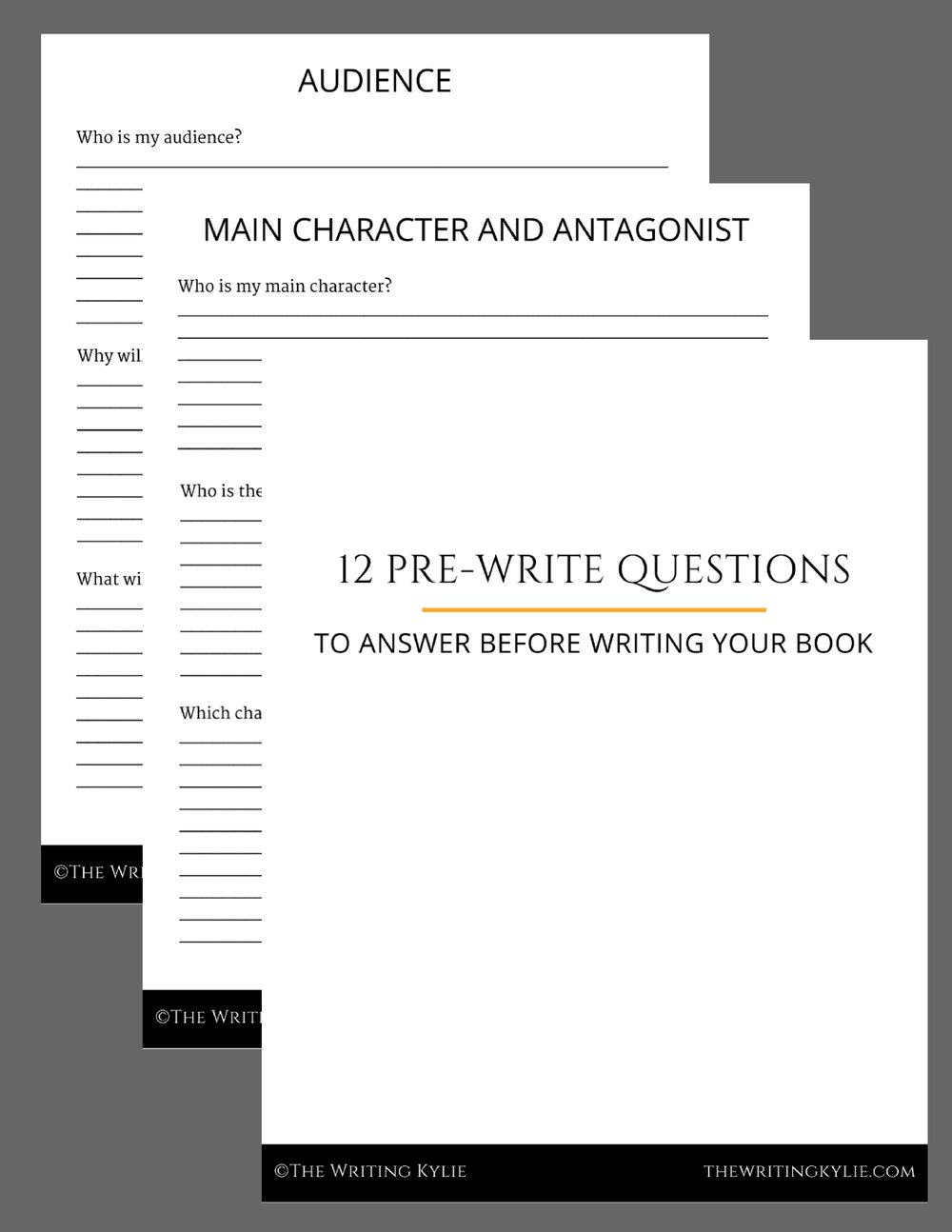 12 Pre-Write Questions to Answer Before Writing your Book.jpg