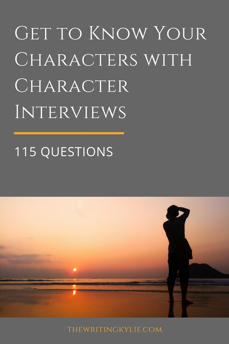 Get to Know Your Characters with Character Interviews: 115 Questions + a FREE Download