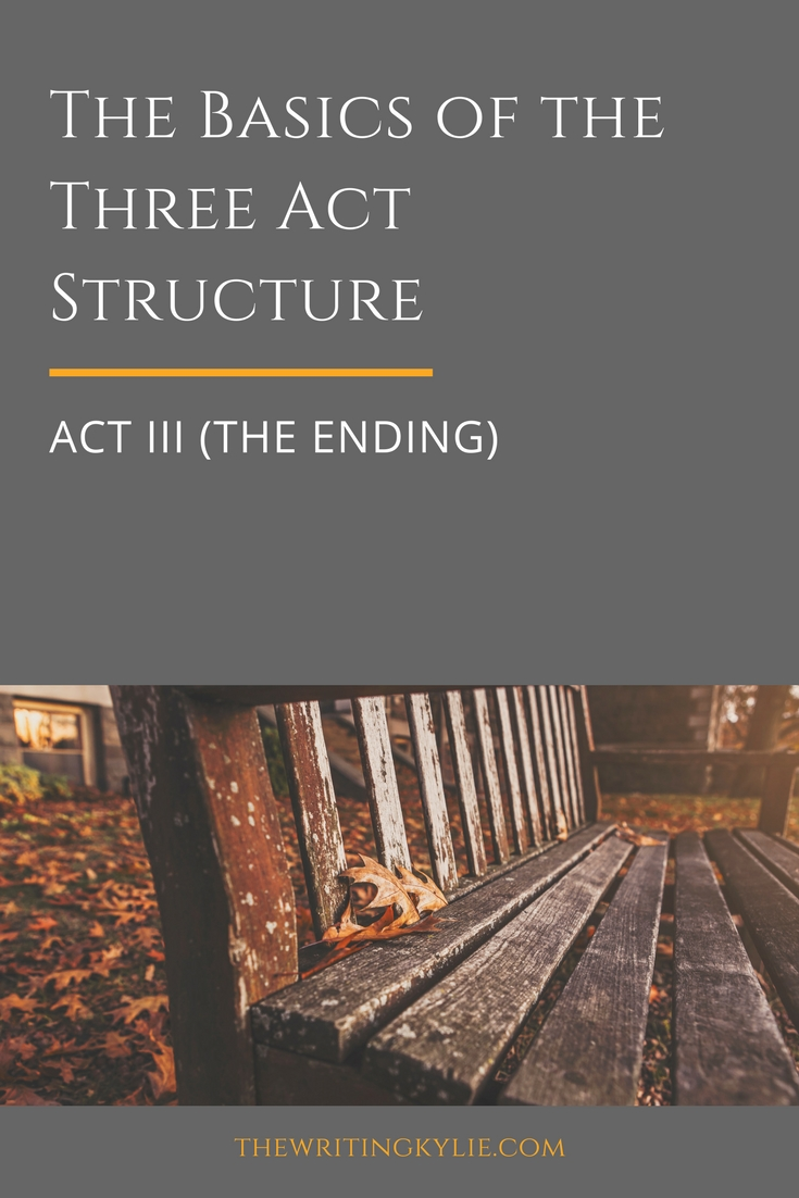 The Basics of the Three Act Structure: Act III (the Ending)