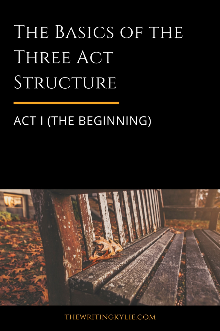 The Basics of the Three Act Structure: Act I (the Beginning)