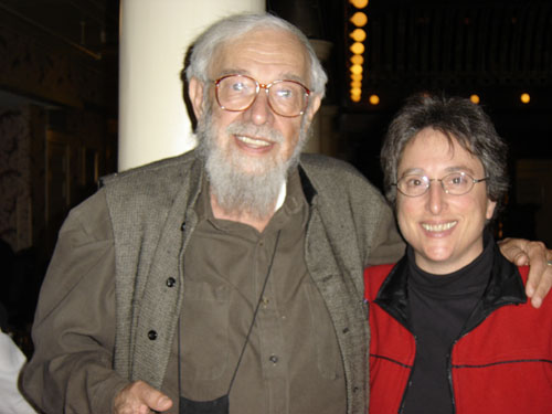 "Rabbi Zalman Schachter-Shalomi z""l, founder of Jewish Renewal with Rabbi Deborah J Brin"