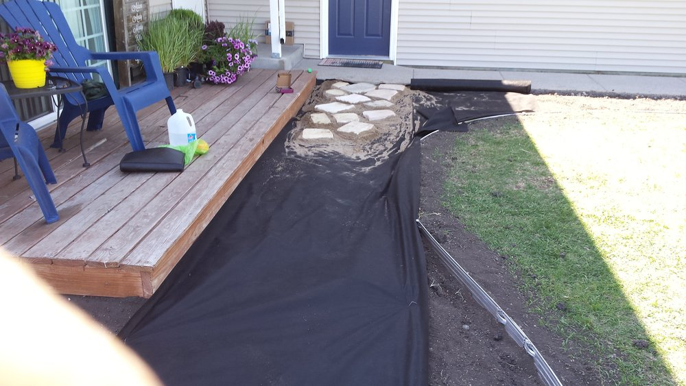 paver construction
