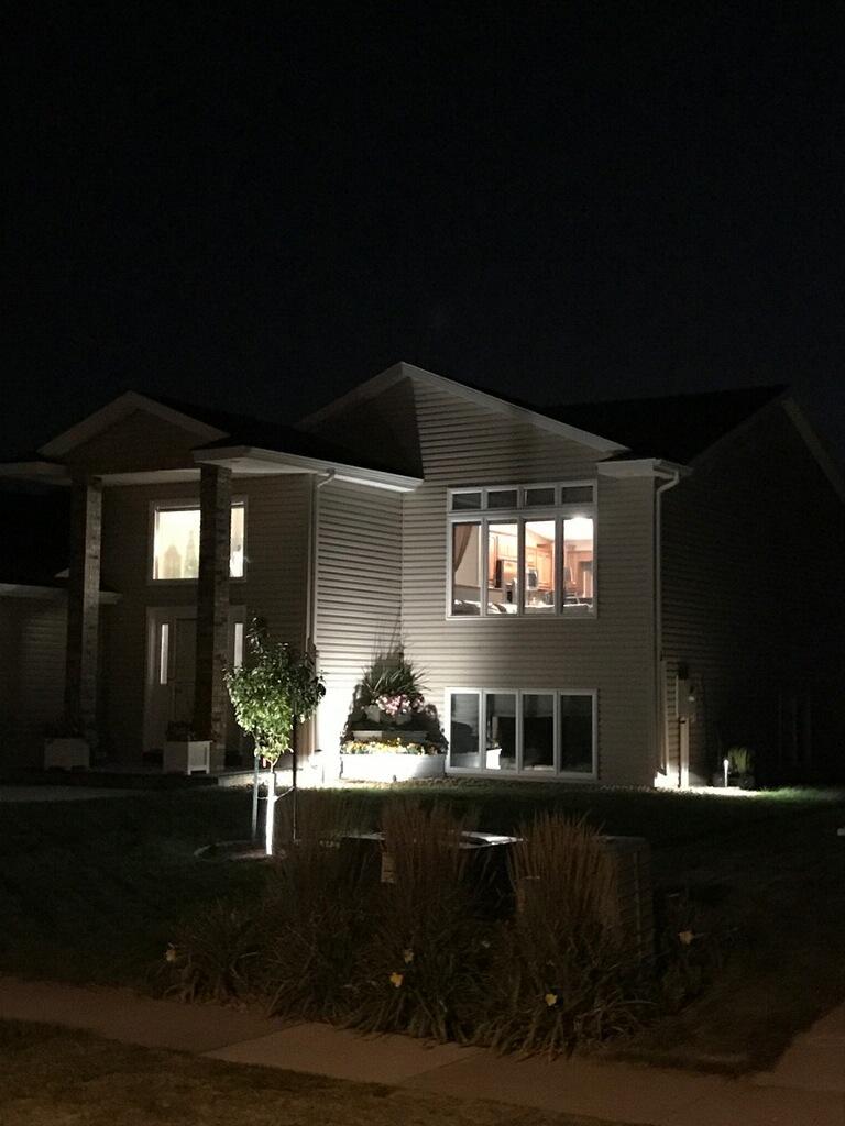 Landscape Lighting front of house