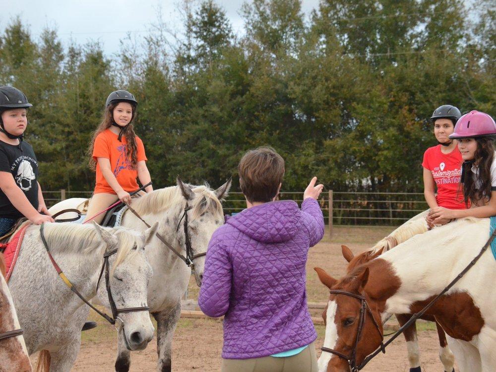 Sunriser Stables Pensacola FL Horse Riding Lessons Adult Child