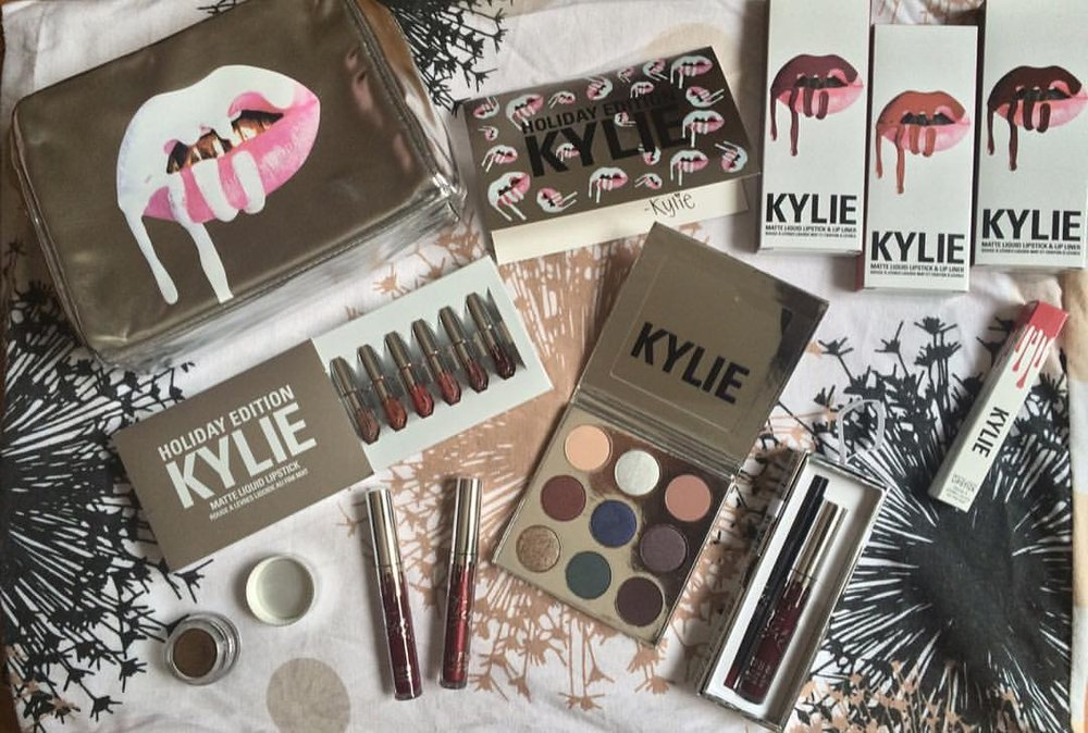 my kylie cosmetics collection so far
