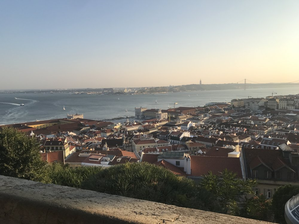 Viewpoint at Castelo de Sao Jorge