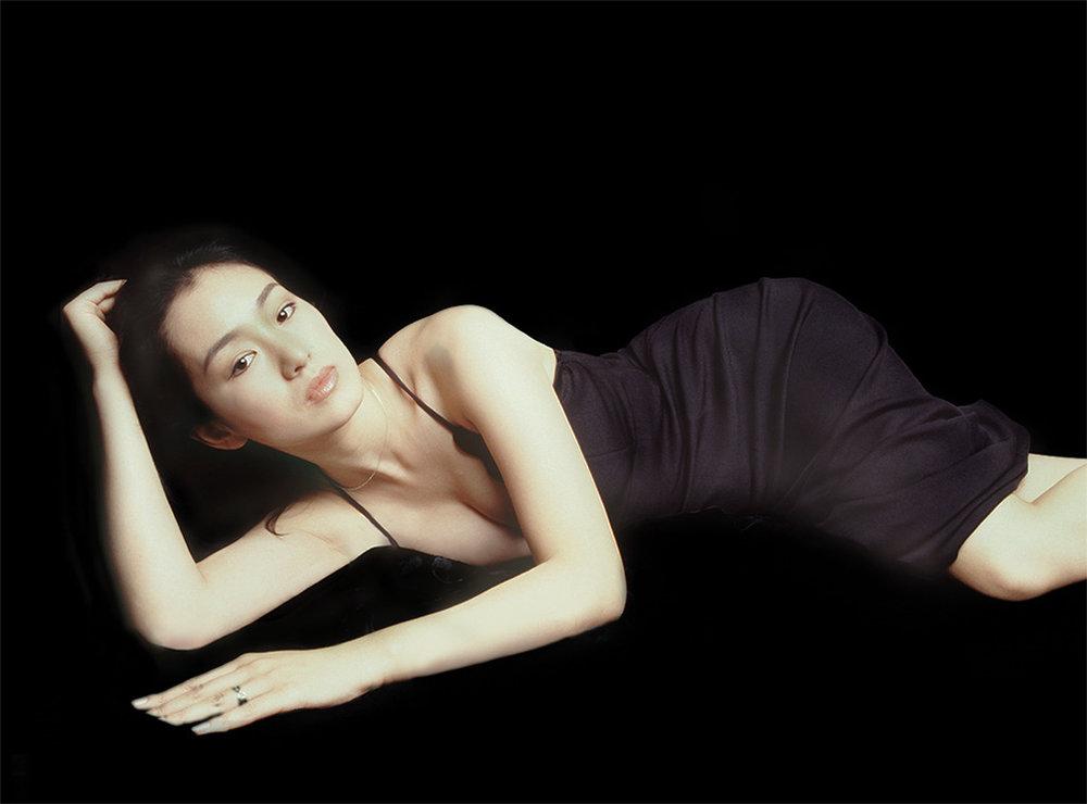 Gong Li in Beijing