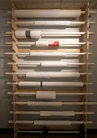 Genial Storing Rolls In Your Studio
