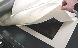 Papers for Etching, Engraving, Embossing, drypoint, mezzotint and aquatint