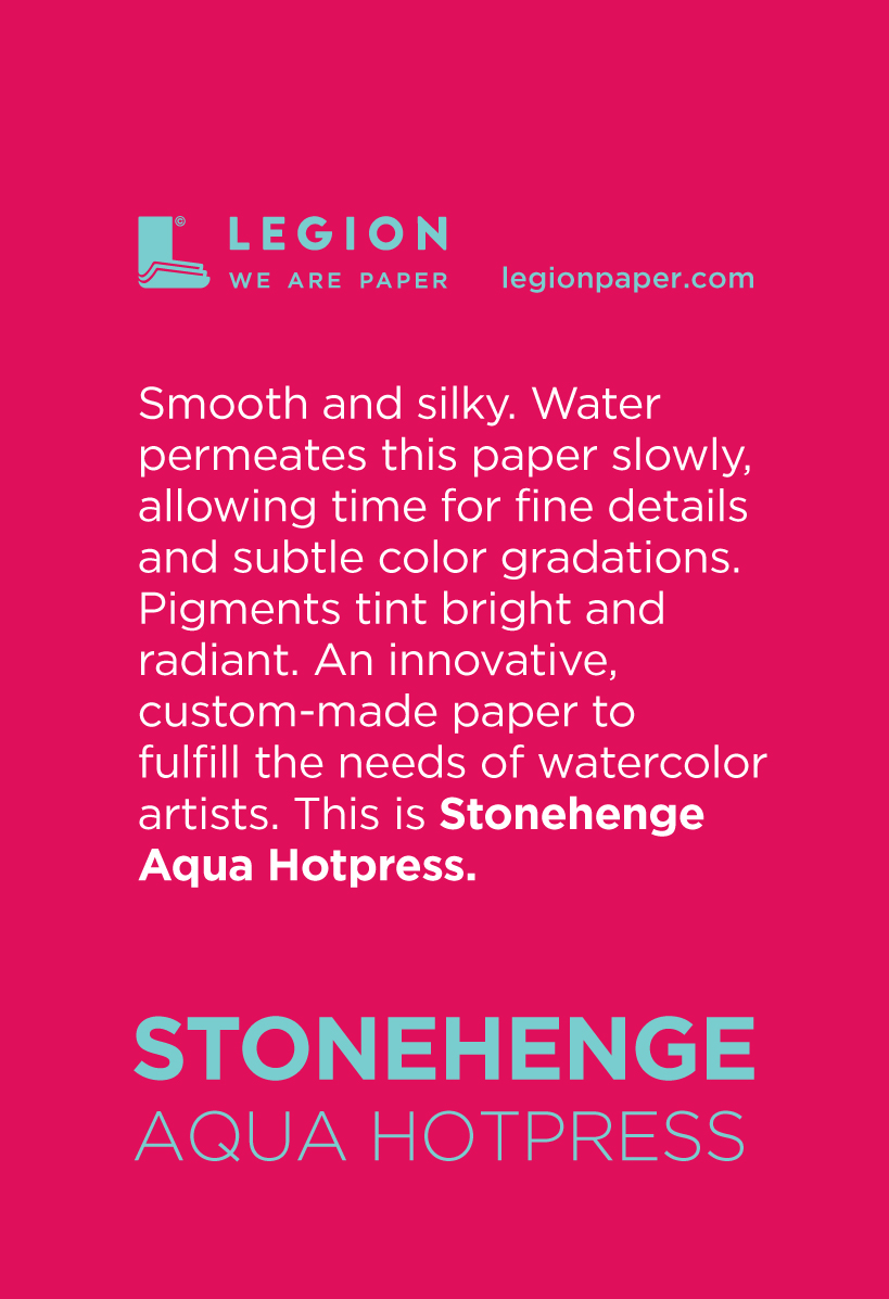 Stonehenge Aqua Hotpress Mini Pad