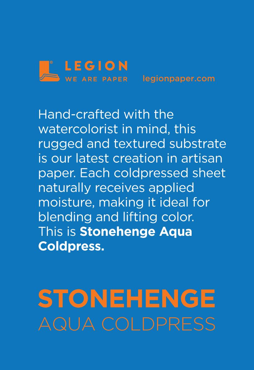 Stonehenge Aqua Coldpress Mini Pad