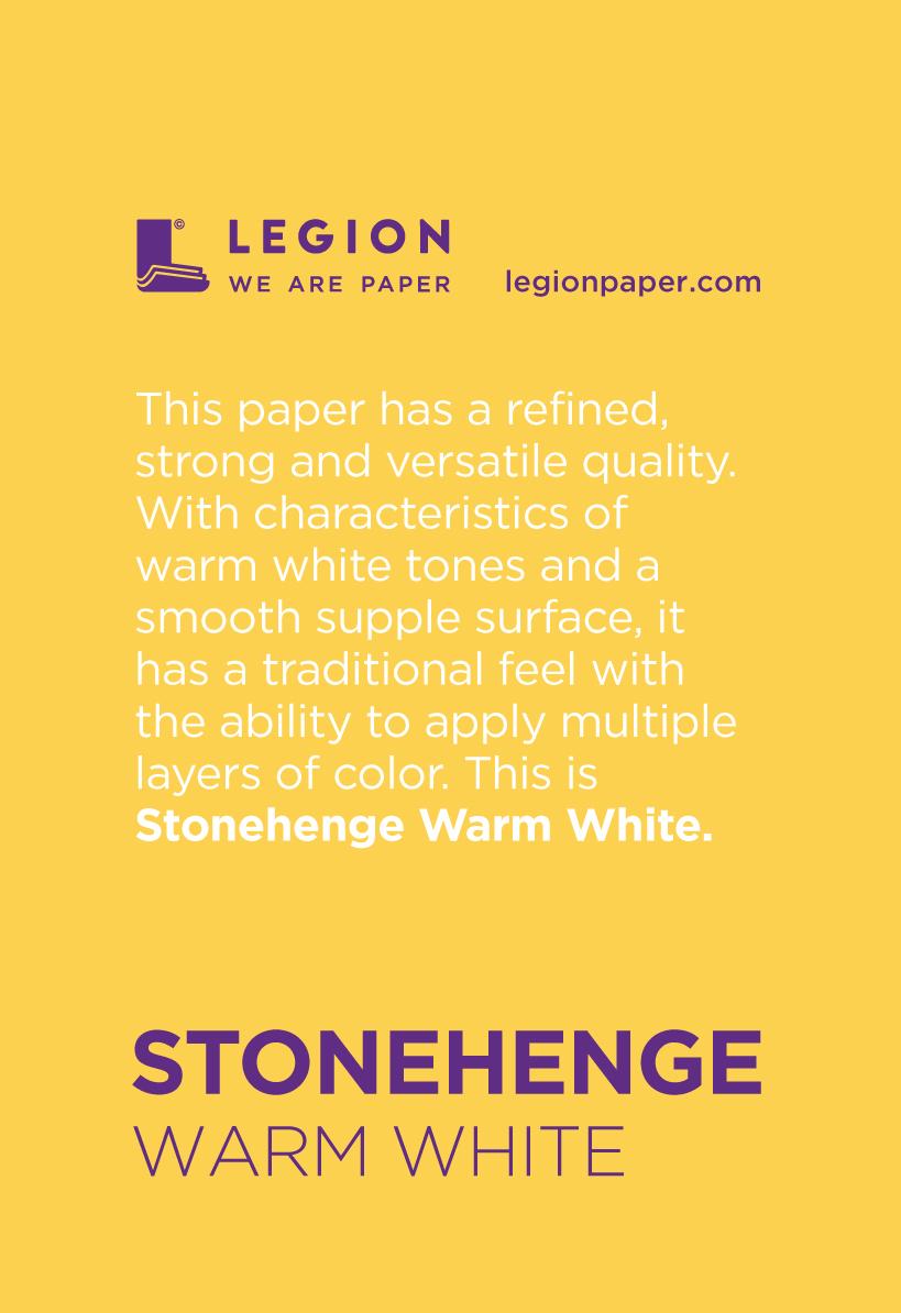 Stonehenge Warm White Mini Pad