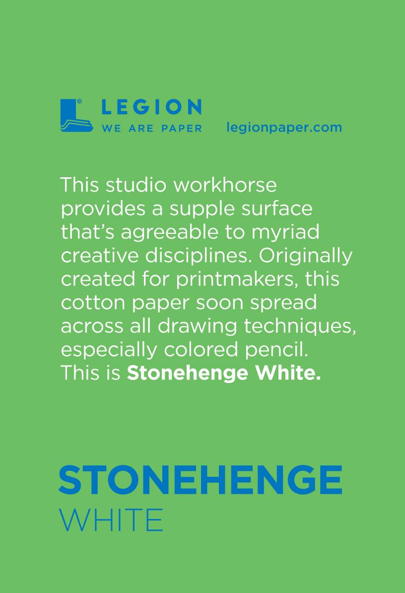 Stonehenge White Mini Pad