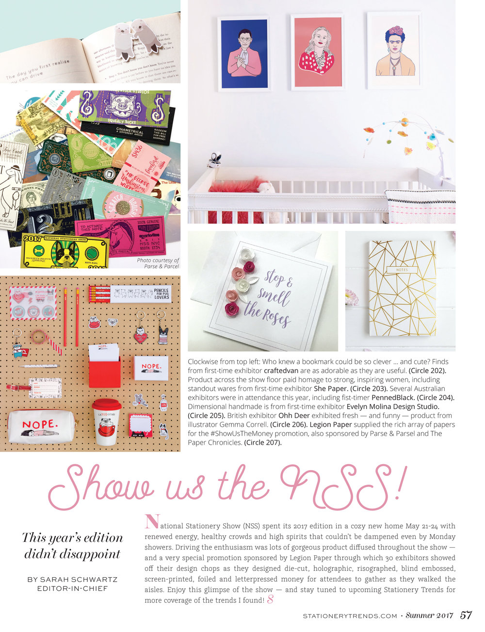 legion paper show us the money featured in the stationery