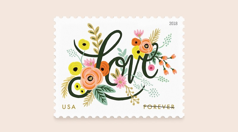 Rifle Paper Co.'s Stamp Design