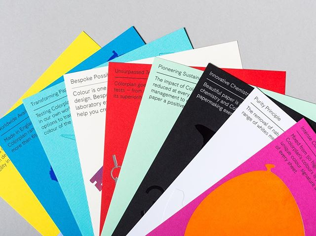 Last chance to enter to win your @colorplan_papers difference giveaway from @beautifulpaper with 9 printed pieces that feature what makes #Colorplan unique from high-intensity dyes to sustainability. Enter to win on Oh So Beautiful Paper's blog. . . . #WeArePaper #LegionPaper #ColorplanPaper #Design #stationery #packaging #color #paperlove #dailydoseofpaper