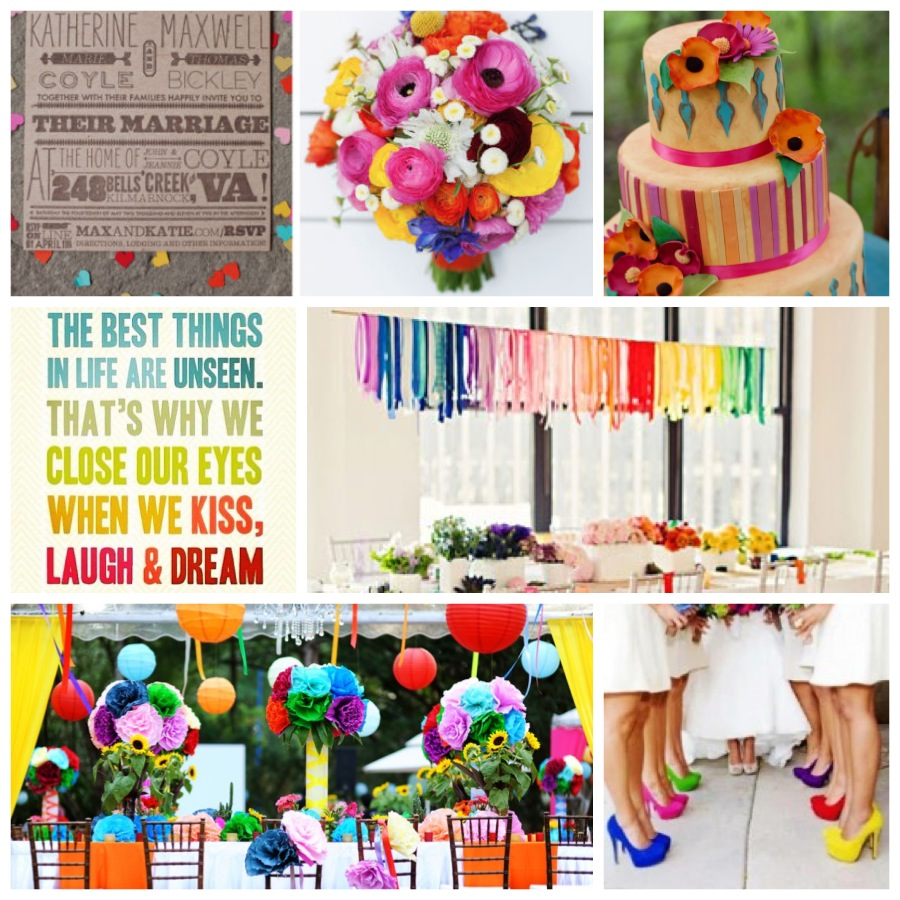Color Weddings: Favored By Yodit - Socially Designed Events